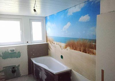 Fototapete Strand im Bad