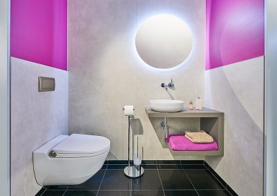 Toilette-pink