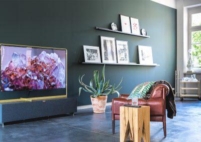 Wohnzimmer-TV
